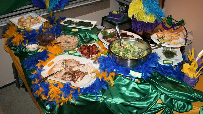Party Theme Brazilian Carnival Mardi Gras