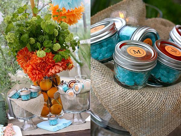 jar jelly bean party favor party themes decor ideas