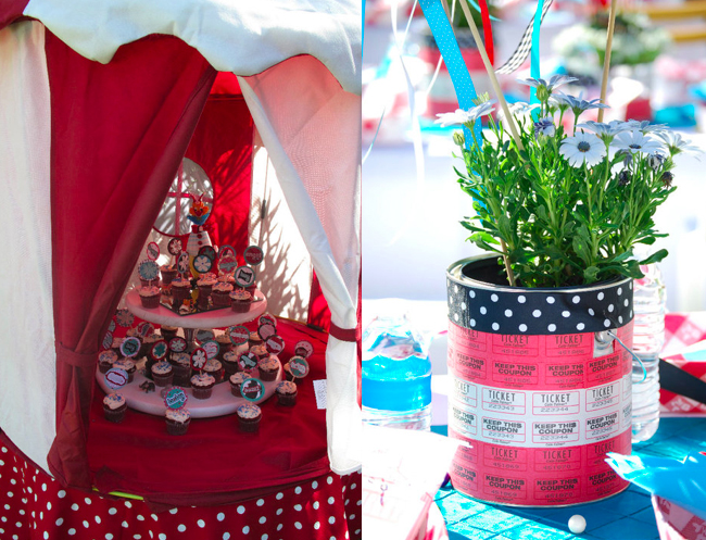 Baby shower circus theme cakes likes a party - Carnival themed baby shower ideas ...
