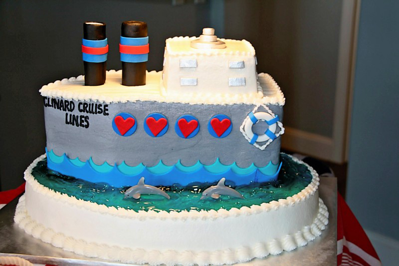 love boat theme party cakes likes a party