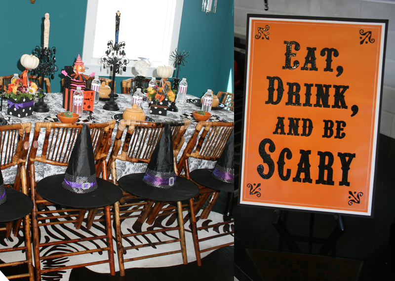 Halloween Party :: A Bewitching 60th Birthday Party | cakes likes ...
