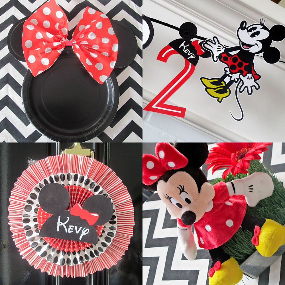 2nd Birthday Party :: Minne Mouse Theme